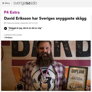 david eriksson world beard day