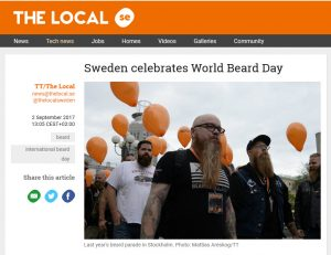 skäggparad world beard day