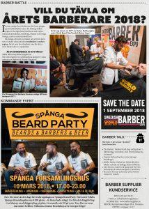 tävla om årets barberare